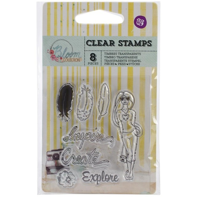 Prima Marketing Bloom Clear Stamps 2.5