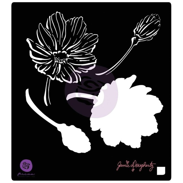 Prima Marketing, Jamie Dougherty Bloom Stencil 6