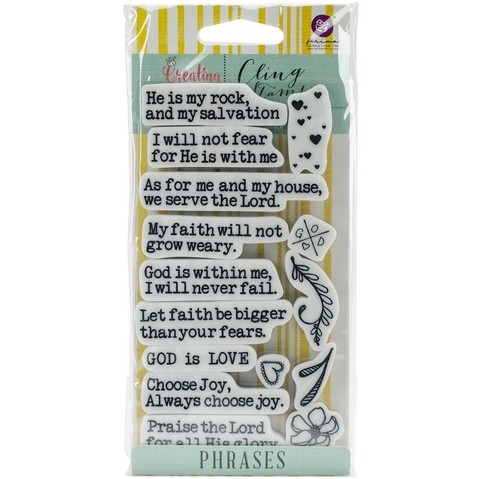 Prima Marketing Jamie Dougherty Creating In Faith Cling Stamps 3