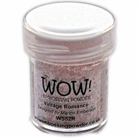 WOW! Embossing Powder Ultra High 15ml Vintage Romance - comprar online