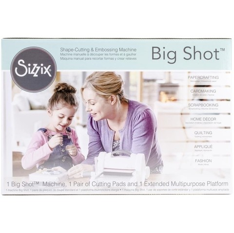 Sizzix Big Shot Machine Gray & White / Sizzix Big shot Máquina de Corte y Repujado Color Blanca y Gris - comprar online