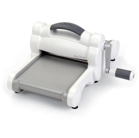 Sizzix Big Shot Machine Gray & White / Sizzix Big shot Máquina de Corte y Repujado Color Blanca y Gris