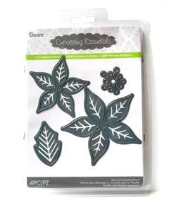 Darice Embossing Essentials & Die Poinsettia en internet