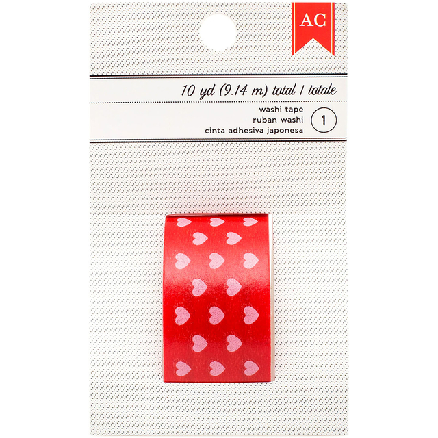 American Crafts Valentine Washi Tape 1