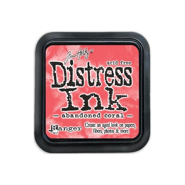 Distress Ink Pad Abandoned Coral