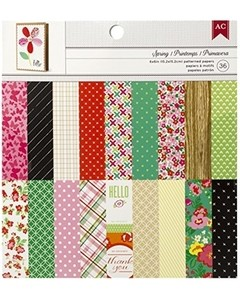 Spring - 6x6 Paper Pad by American Crafts