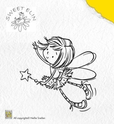 NELLIE'S CHOICE Clear Stamps Sweet Elin