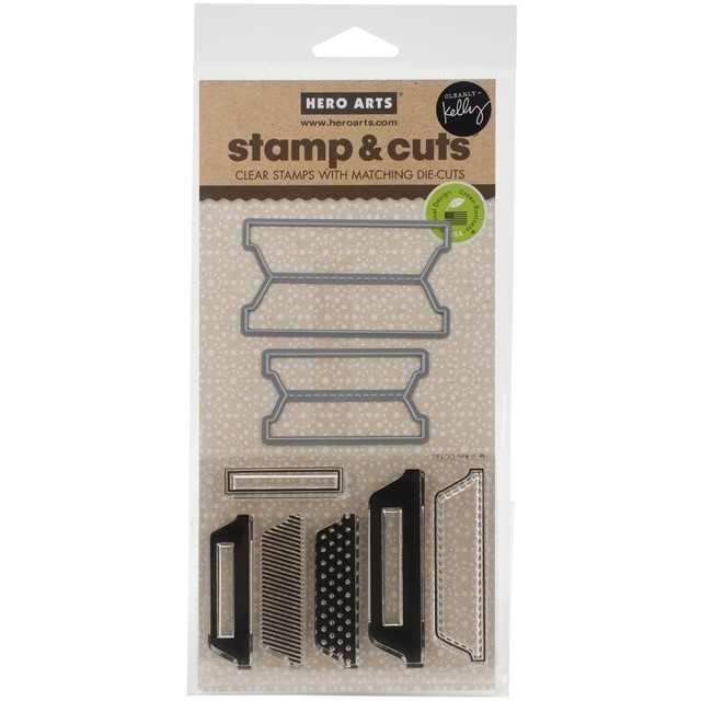Hero Arts Stamp & Cuts Scored Tabs - comprar online