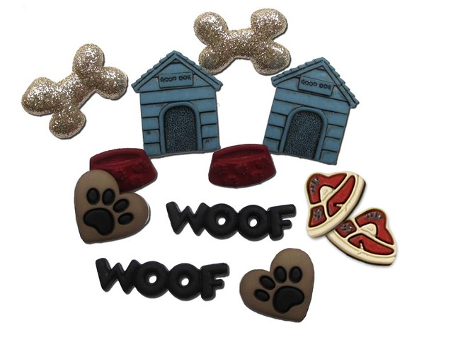 Jesse James Embellishments Feline & Fido Dog Stuff - comprar online