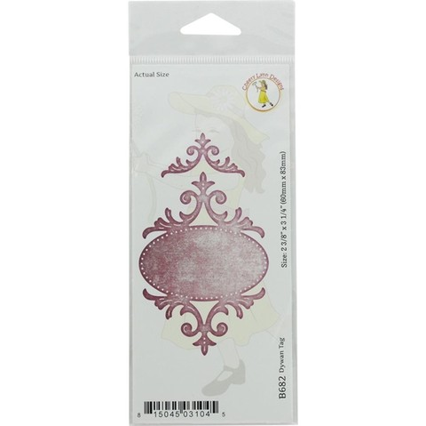 Cheery Lynn Designs die Quadrafoil tag 2.375 x 3.25 en internet