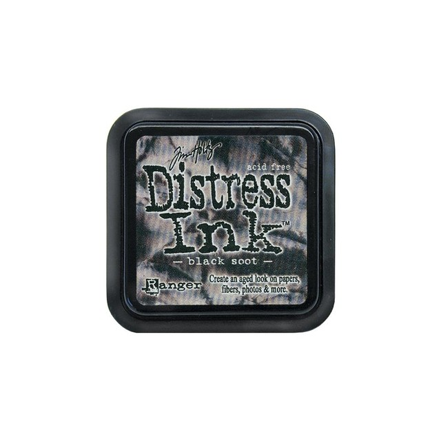 Distress Ink Pad Black Soot