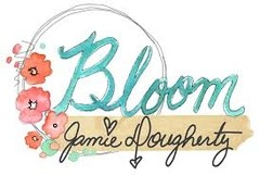 "Prima Marketing Bloom Cling Rubber Stamps 8""X6"" GARDENIA en internet"