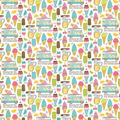 CARTABELLA COOL SUMMER PACK 1 - 12 PAPELES DE 30X30 - Laura Bagnola