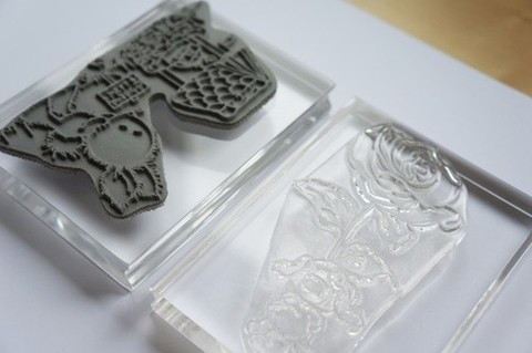 Apple Pie Memories Acrylic Stamp Blocks 3/Pkg .5