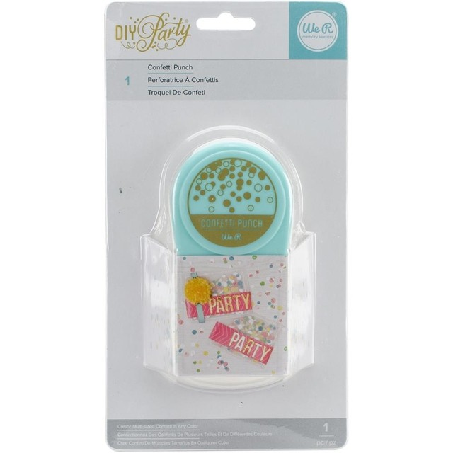 We R Memory Keepers DIY Party Paper Punch Confetti - comprar online