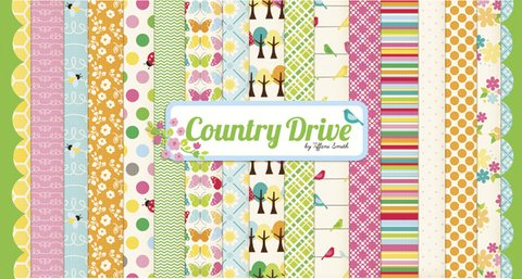 Country Drive - PACK 12 X 12 - 30X30 DE 22 PAPELES