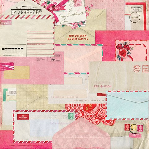 FEBRUARY - PACK DE 25 PAPELES 30X30CM en internet