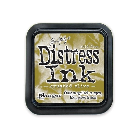 Distress Ink Pad Crushed Olive