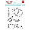 THE GREETING FARM CLEAR STAMPS CUDDLY THANKS