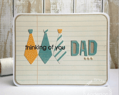 Paper Smooches Die Dad Icons / Cortante Icono Papa - Laura Bagnola Crafts