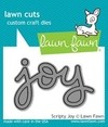 "Lawn Cuts Custom Craft Die / Cortante Lawn Fawn ""Joy"""