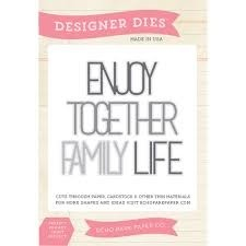 Echo Park Dies Enjoy together family life