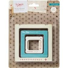 The Pier Chipboard Slide Frames Assorted Sizes 27/Pkg (D) - comprar online