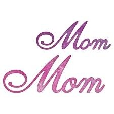 "Cheery Lynn Designs Die Mom, 2.25""X.875"" / Cortante Mama en internet"
