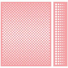 Cuttlebug A2 Embossing Folder/Border Set Ben-Day Dots - comprar online