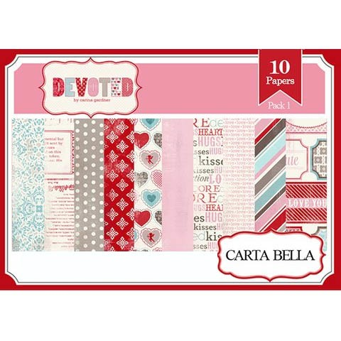 DEVOTED PACK N°1 - PACK DE 10 PAPELES 30X30 CM