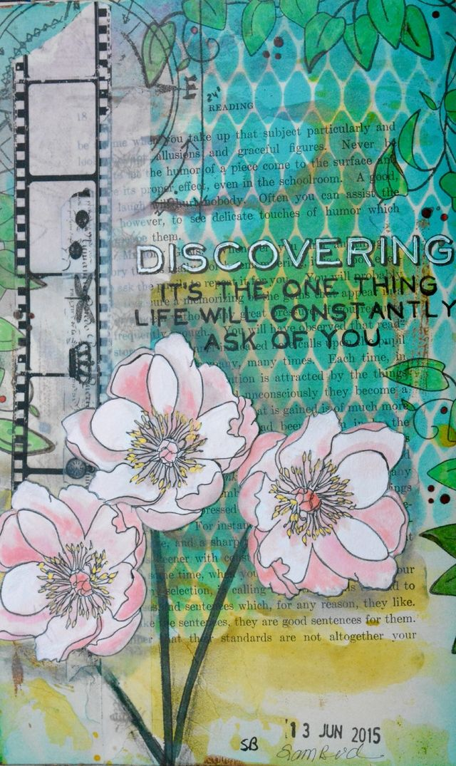 Tim Holtz Layered Stencil 4.125