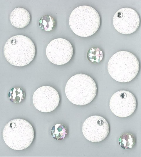 Jolee's Cabochons White Dots