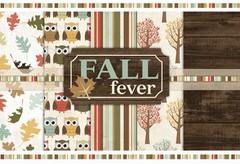 FALL FEVER - PACK DE 5 PAPELES DE 30X30