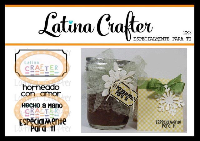 CLEAR STAMP ESPECIALMENTE PARA TI