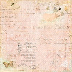 FAIRY BELLE - PACK DE 16 PAPELES DE 30X30 - Laura Bagnola Crafts