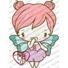 THE GREETING FARM RUBBER STAMPS FLUTTER ANYA - comprar online