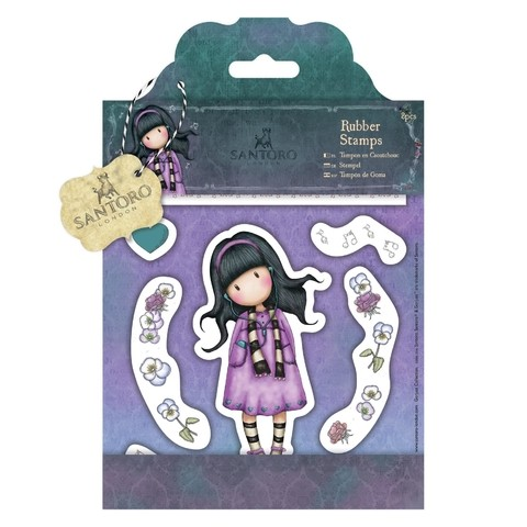 Gorjuss Santoro Rubber Stamp