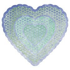 "Cheery Lynn Designs Doily Die Heart To Heart, 5.25""X5"" en internet"