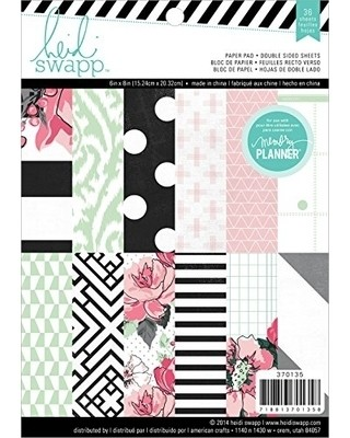 Heidi Swapp Double-Sided Paper Pack 6
