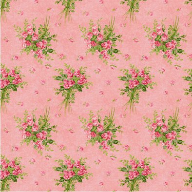 HEIRLOOM FLOWERS - PACK DE 8 PAPELES 30X30 CM en internet