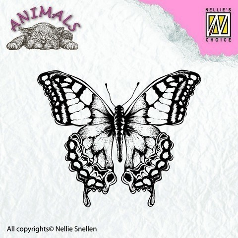 NELLIE'S CHOICE Clear Stamps animals - butterfly en internet