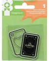 "Family Fun Clear Acrylic Stamp 2""X2"" Playing Cards - comprar online"