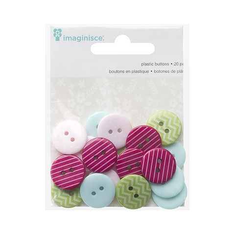 Imaginisce Welcome Spring Buttons