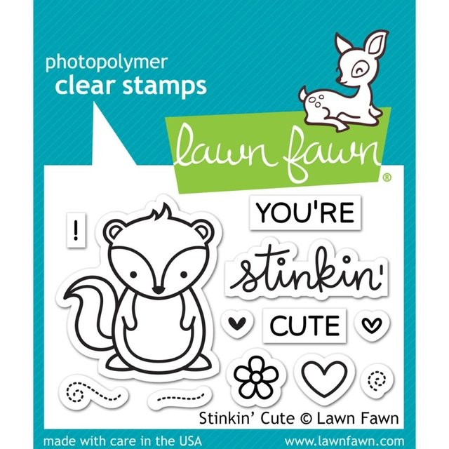 LAWN STAMPS STIKIN CUTE