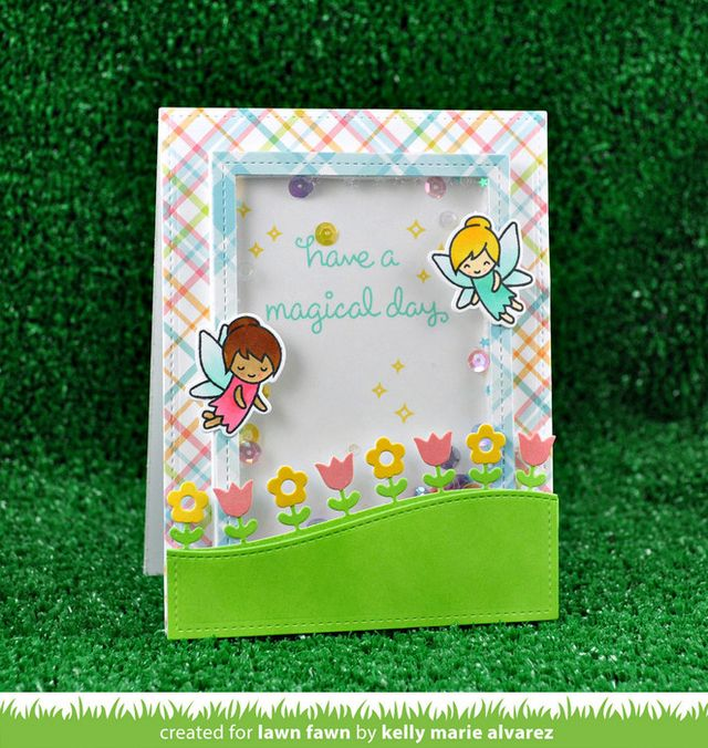 LAWN STAMPS FAIRY FRIENDS - comprar online