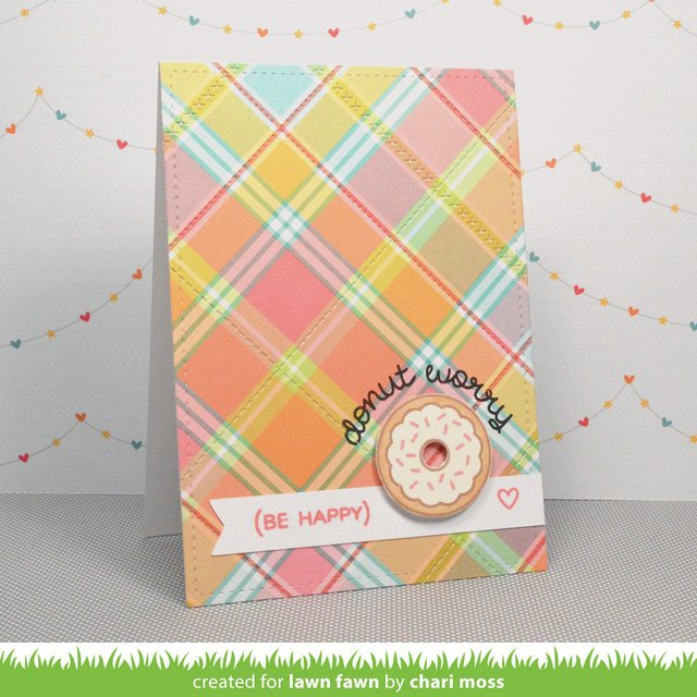LAWN STAMPS DONUT WORRY - comprar online