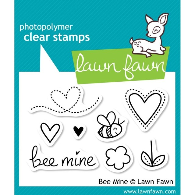 LAWN STAMPS BEE MINE