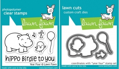 Lawn Fawn Cuts Custom Craft Die Year 4 / Cortante Cuatro Años en internet