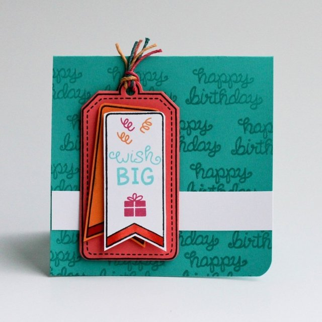 LAWN STAMPS BIRTHDAY TAGS - comprar online