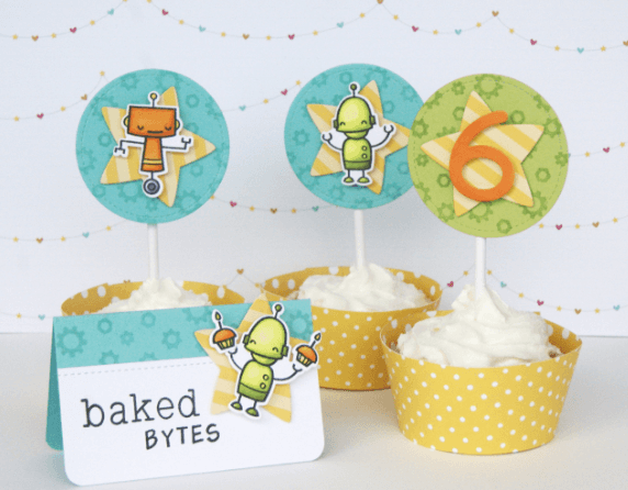 LAWN STAMPS BEEP BOOP BIRTHDAY en internet